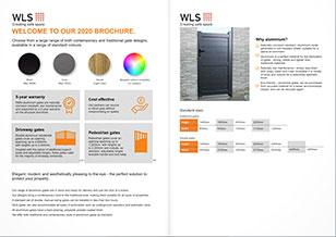 Aluminium gates catalogue 2020